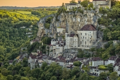 Sunset at Rocamadour
