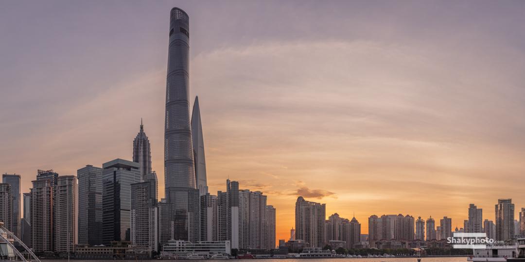 New Sunrise over Shanghai