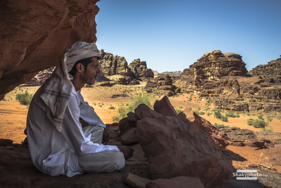 Bedouin Life Lesson - Shade