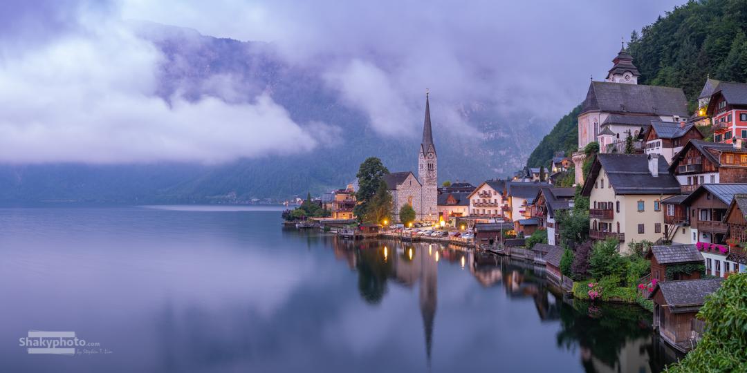 Quiet Lake Town Awakening