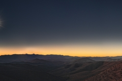 Eclipse in The Andes