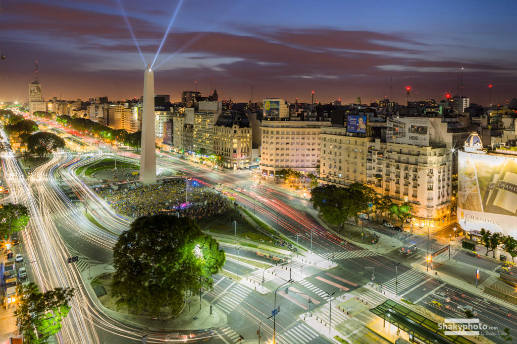 Movement in Buenos Aires