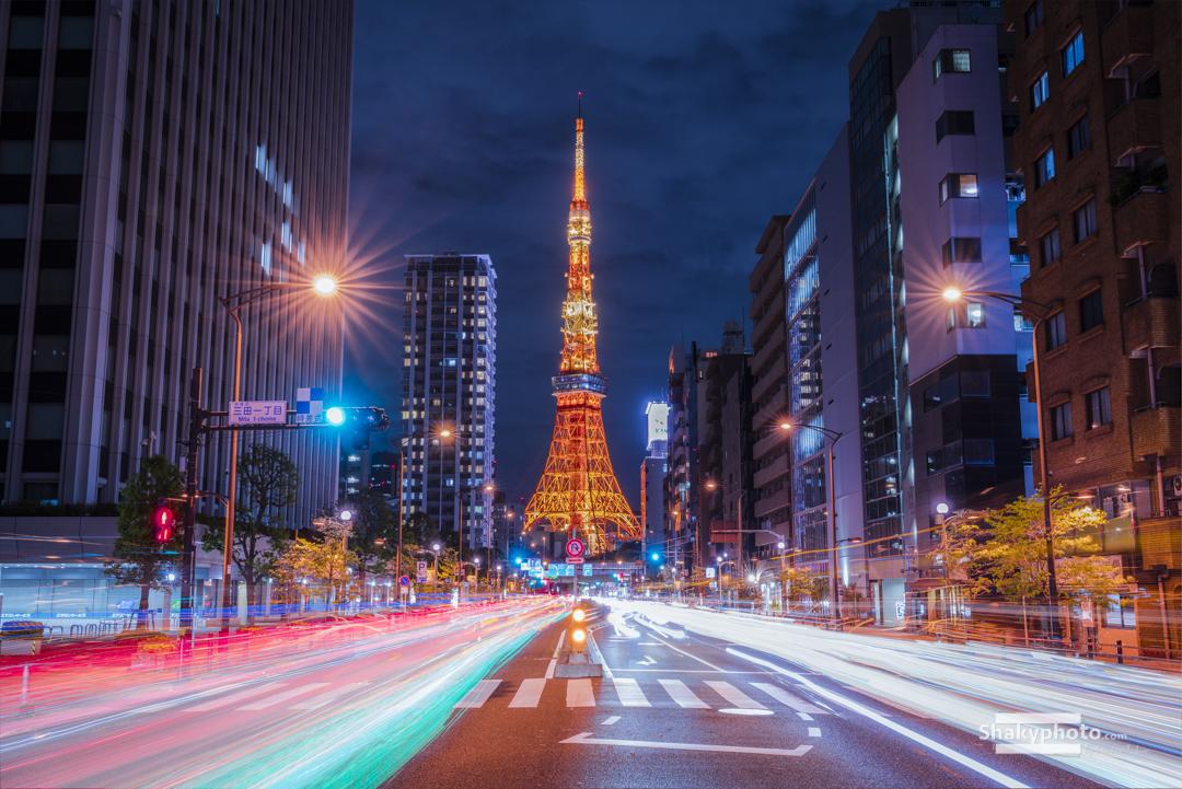Racing to Tokyo Tower