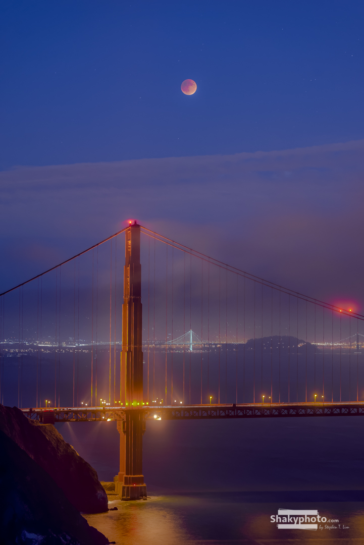 Blood Moon in SF