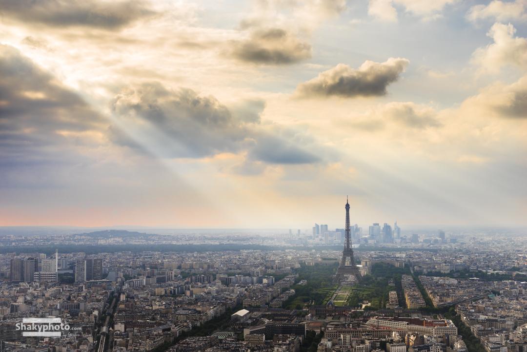 Lights on Paris